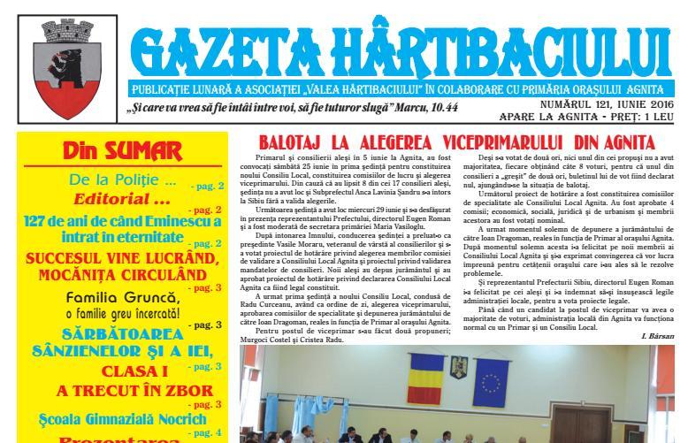 Numarul 121 – Gazeta Hartibaciului